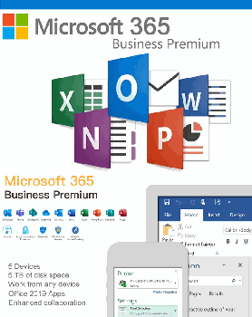 Microsoft 365 Business Premium  (Antispam & Backup Pro)